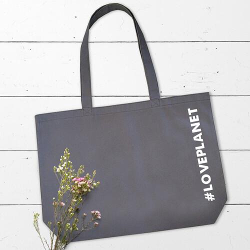 Еко сумка «Market MAXI» з принтом #LOVEPLANET