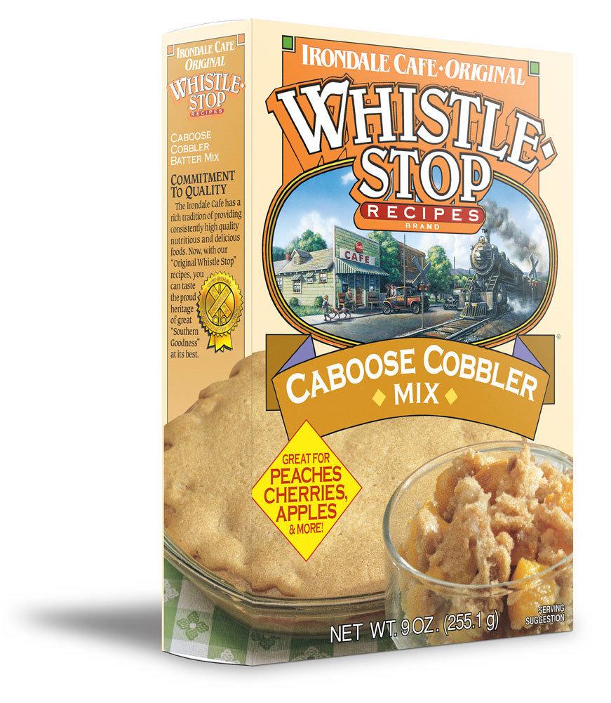 Caboose Cobbler Batter Mix   9-oz   1 Box