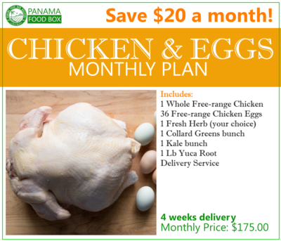 Chicken and Eggs Monthly Plan