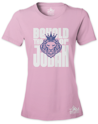 Women's Behold The Lion of Judah T-shirt