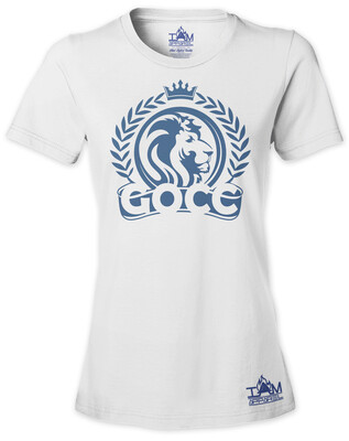 GOCC Lion Woman's  Short Sleeved T-shirt