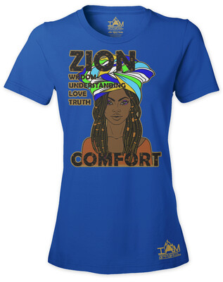 Zion Woman's  Short Sleeved T-shirt