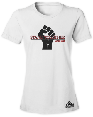 Women's Stand Together Or Die Apart T-Shirt