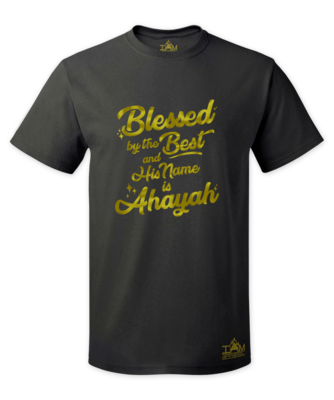 Men's GOLDEN SERIES Blessed by the best Short Sleeved T-shirt