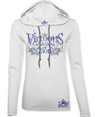 Women's Virtuous Daughters of Zion Hoodie