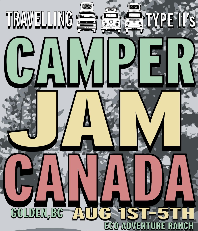 CAMPER JAM CANADA 2019     VW SPLIT BUS 49'-67'