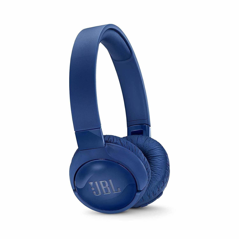 JBL Tune 600 BTNC On-Ear Wireless Bluetooth Noise, Blue
