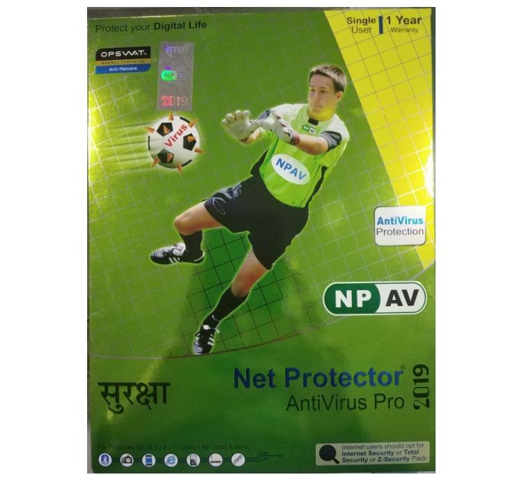 Net Protector Antivirus Pro, 1 User, 1 Year