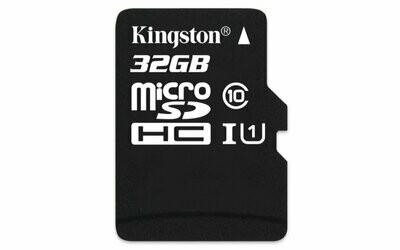 Kingston 32GB Memory Card, 80mbps, Class 10