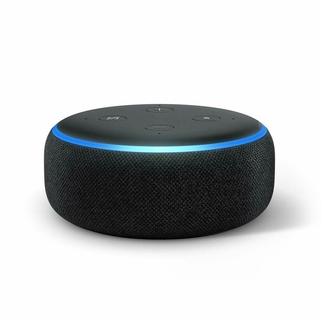 Amazon Echo Dot 3rd Gen Smart speaker with Alexa, Black