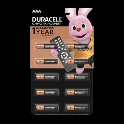 Duracell Chhota Power, AAA, 10 Batteries, 1.5V Alkaline