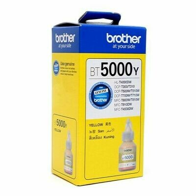 Brother ink Bottle, BT5000Y, Yellow