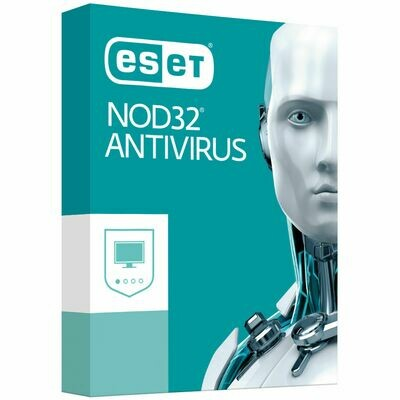 1 User, 1 Year, Eset Antivirus, NOD32
