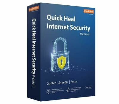 2 User, 3 Year, Quick Heal Internet Security