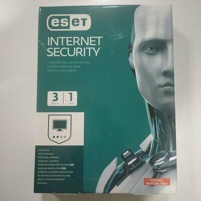 3 User, 1 Year, Eset Internet Security