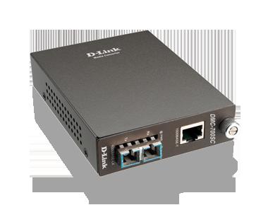 D-Link DMC G1000SC Fiber Media Converter Single Mode SC Type