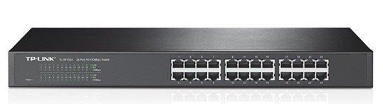 TP-Link 24-Port Rackmount Switch, SF1024D, 100Mbps