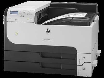 HP M712dn Color Single Function Laser Printer, CF236A