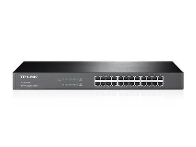 TP-Link 24-Port Gigabit Rackmount Switch, SG1024D, 1000Mbps