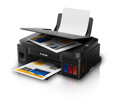 Canon G2010 Color Ink Tank Printer, PSC