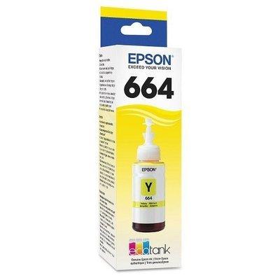 Epson ink Bottle, 664, Yellow, 70ml