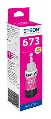 Epson ink Bottle, 673, Magenta, for l800, l805, l810, l850, l1800