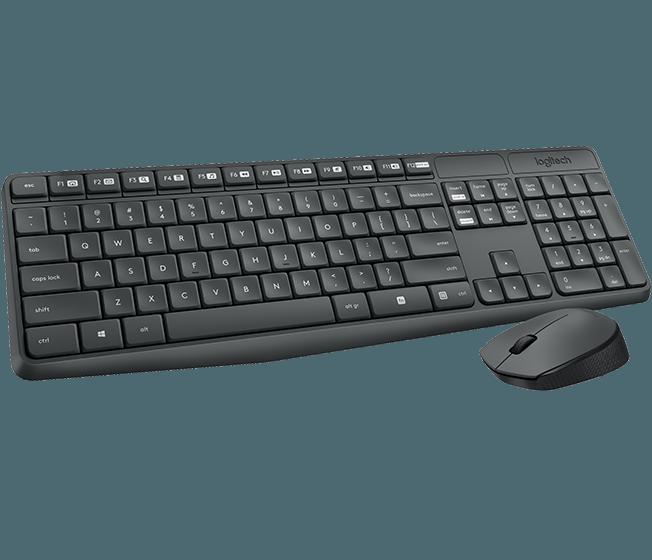 Logitech MK235 Wireless Keyboard Mouse
