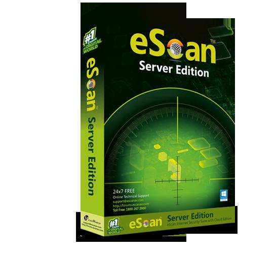 1 Server, 3 Year, eScan Server Edition, V-14.x