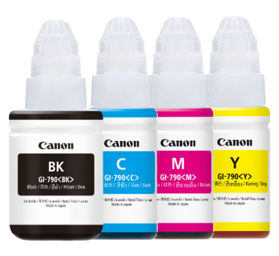 Canon ink Bottle, GI 790, for g1000, g1010, g2000, g2002, g2010, g2012, g3000, g3010, g3012, g000, g4010