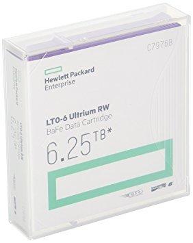 HP LTO 6 Tape Data Cartridge, 6.25tb