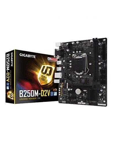 Gigabyte GA-B250M-D2V LGA1151 USB 3.0 Micro ATX Intel Motherboard