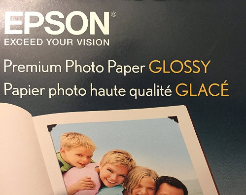 Epson 4 X 6 Photo Paper, 400 Sheets, 102mm x 152mm