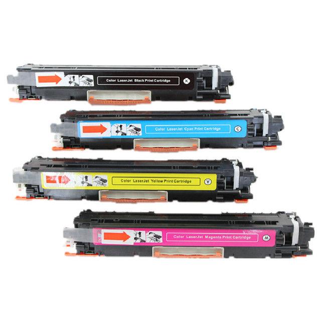 LT 126A Color Laser Toner Cartridge, 1set