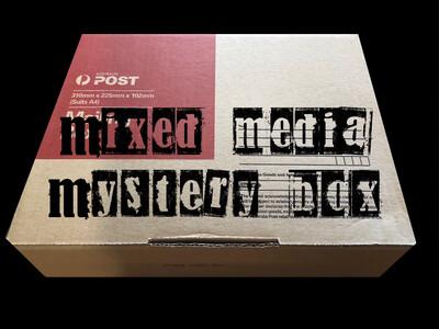 Mixed Media Mystery Box