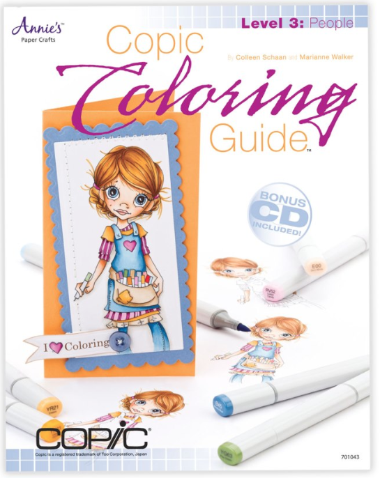 Copic Colouring guide 3 - People