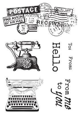 Kaiser Craft - Clear Stamp - Cherry Tree Lane