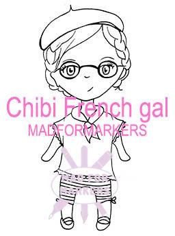 Chibi French Gal