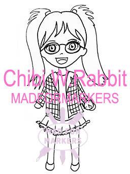 Chibi White Rabbit