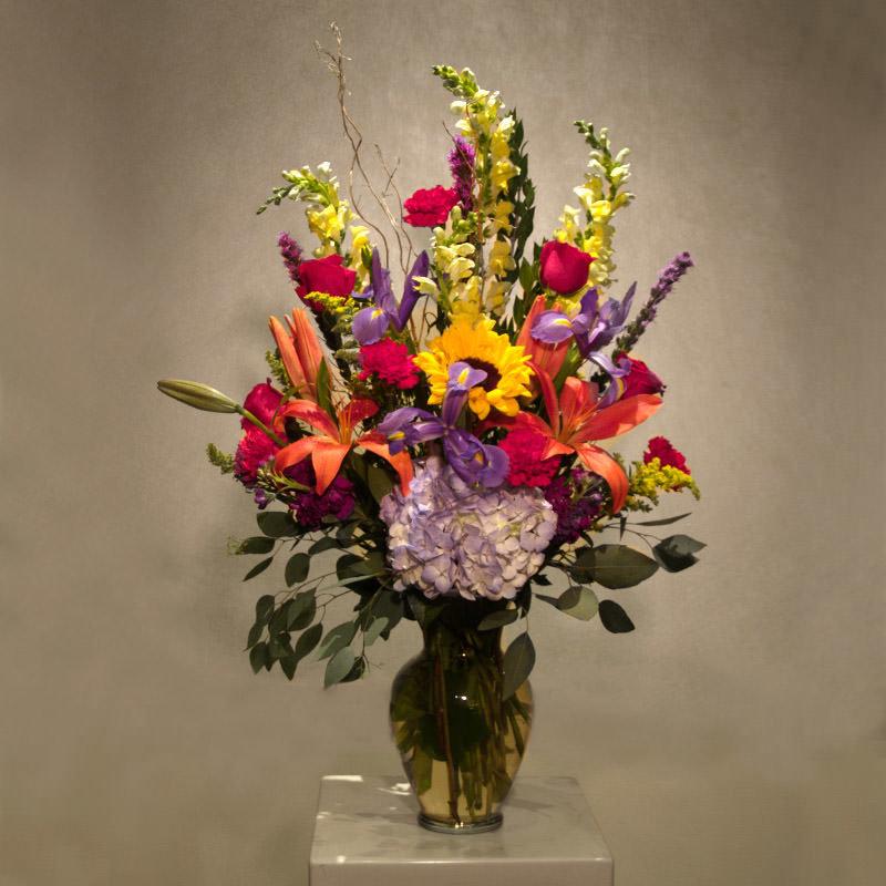 Autumn Harvest Vase