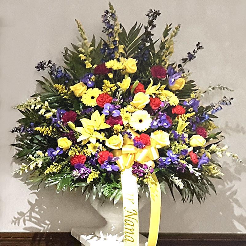 Spring Garden - End Vase