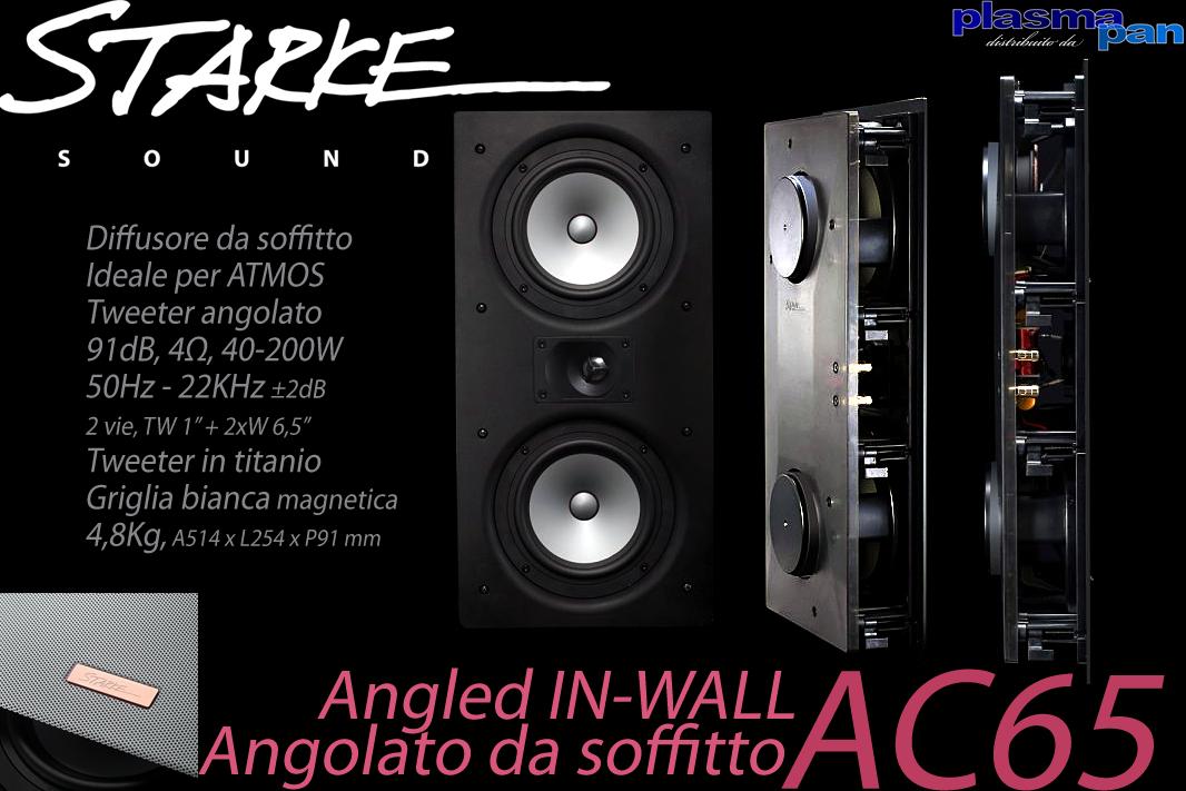 STARKE SOUND AC65 Diffusori Acustici da Soffitto ( casse ) [coppia] ATMOS Reference