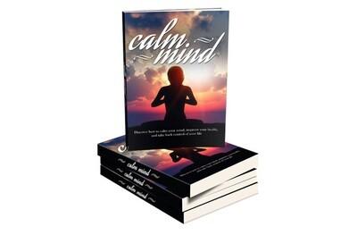 Calm The Mind E-Book