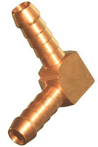 Brass Hose Elbow