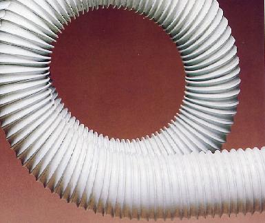 Grey Plastiflex Ducting