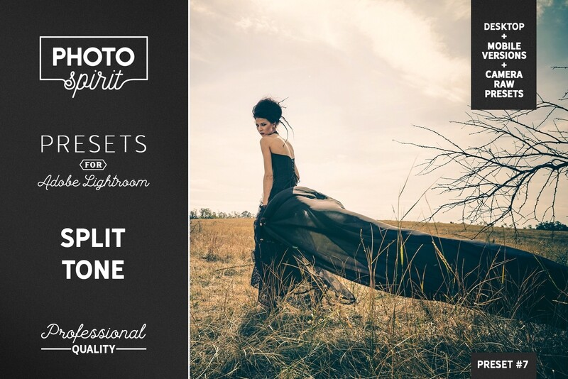 Split Tone Presets Mobile + Desktop