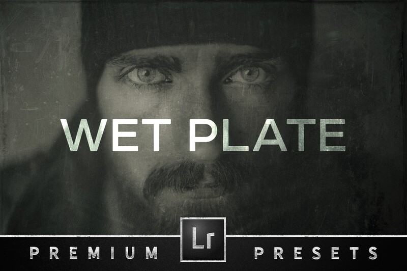 Wet Plate Effect Lightroom Presets