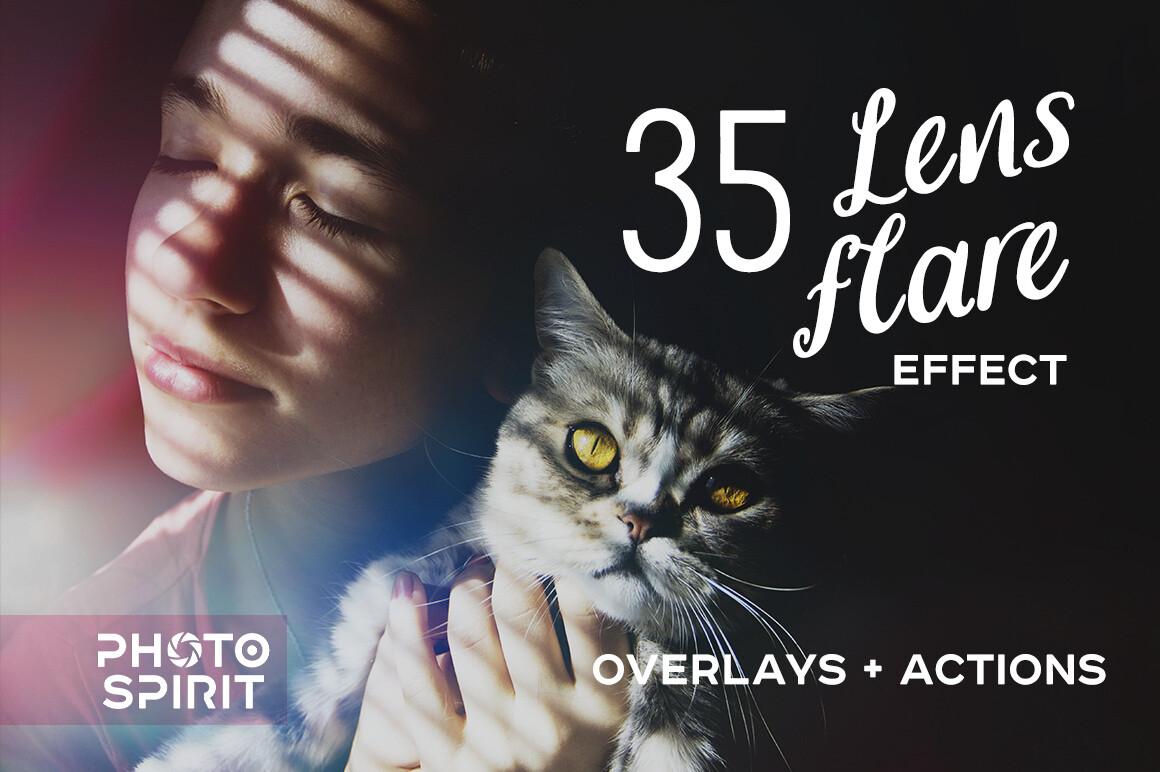 Lens Flare Effect Photoshop