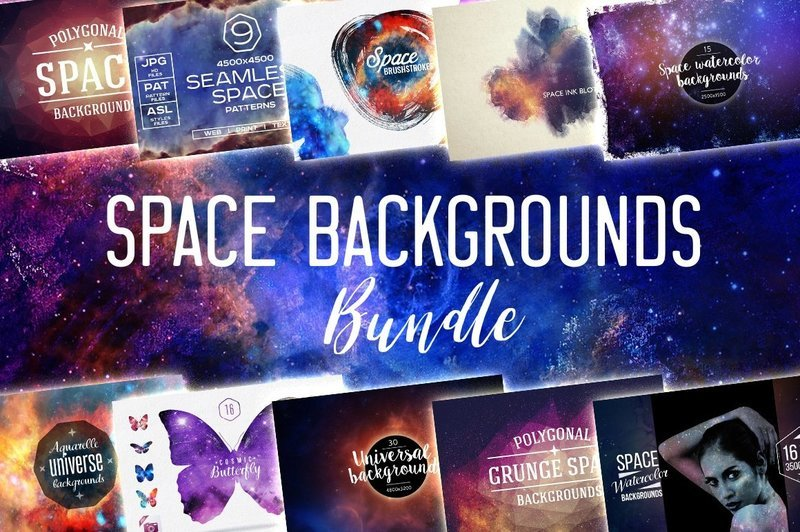 Space Backgrounds BUNDLE
