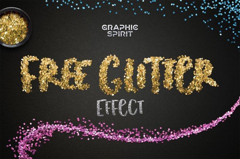 Free Glitter Photoshop Styles