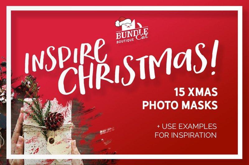 15 Christmas Photo Masks